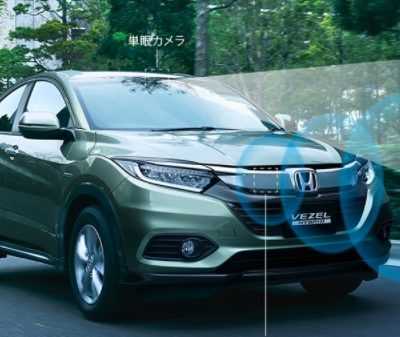 Honda показала обновленный кроссовер Vezel