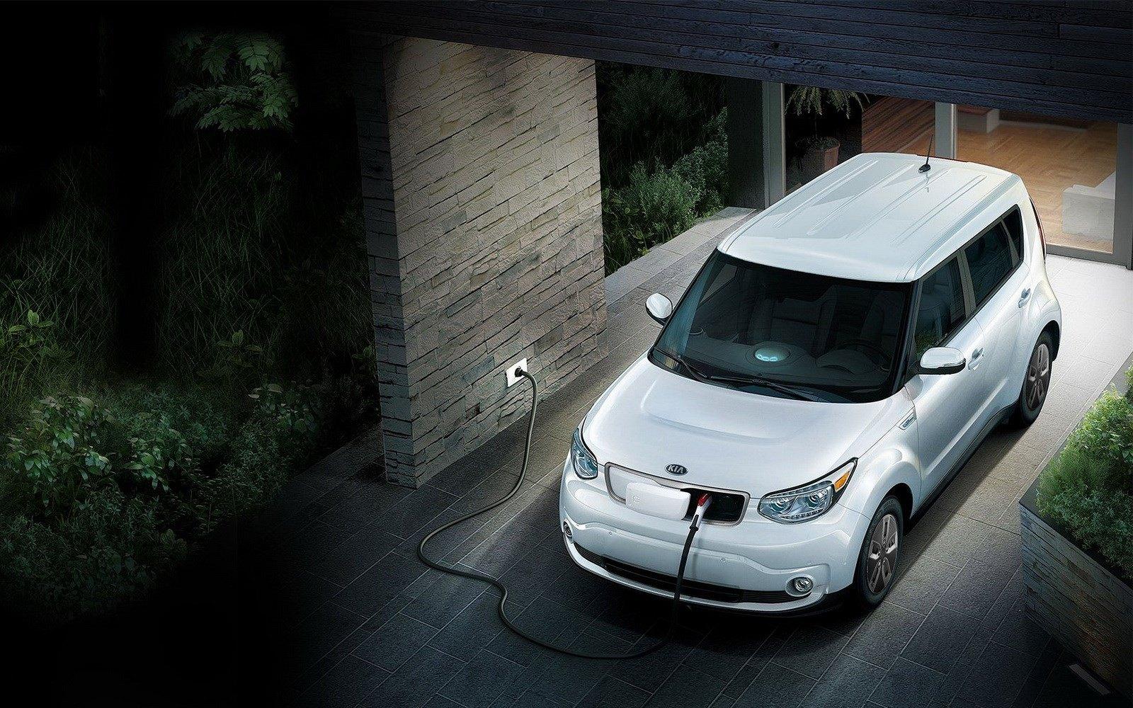 Kia Soul EV получил батарею повышенной ёмкости