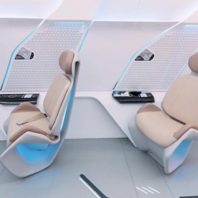 Как будут ездить пассажиры в капсулах Hyperloop