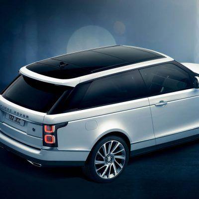 Дебют Range Rover SV Coupe в Женеве