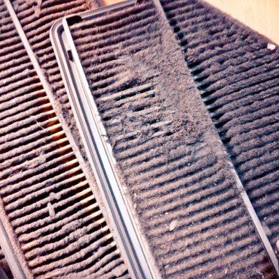 Признаки грязного воздушного фильтра